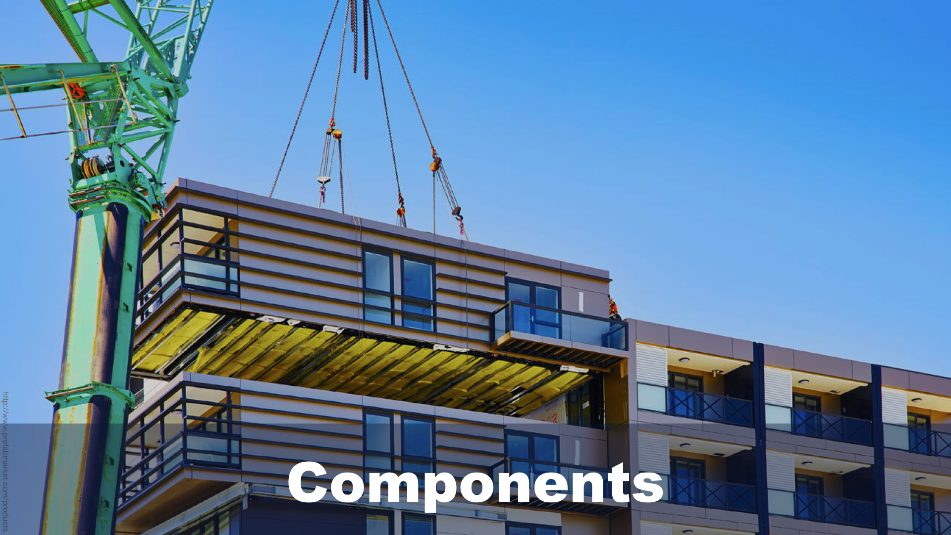Components in React compared to Prefabricated Units in High-rise construction